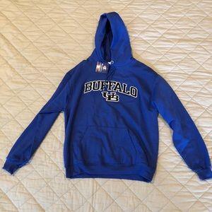 University of Buffalo sweatshirt
